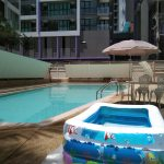 【初!子ども用プール遊び】グリーンライフ サービスアパート シラチャ