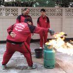 【 消防訓練を実施しました!】