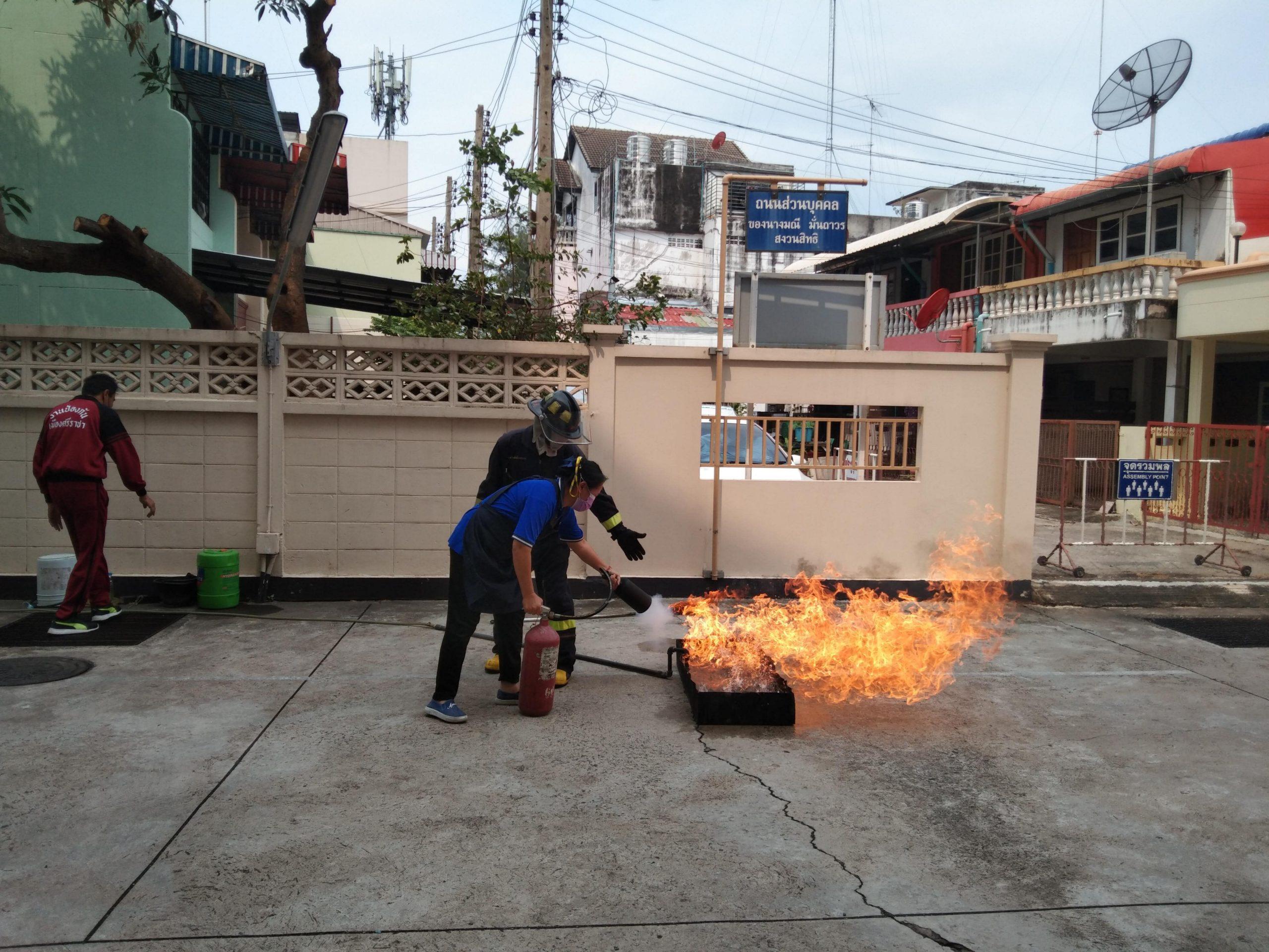 単身者、夫婦向けサービスアパート グリーンライフ 消防訓練